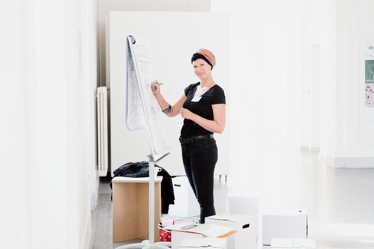 Nina Neef Visualisierte Beim Zukunftstag Der Universität Der Künste Berlin Per Livedrawing.