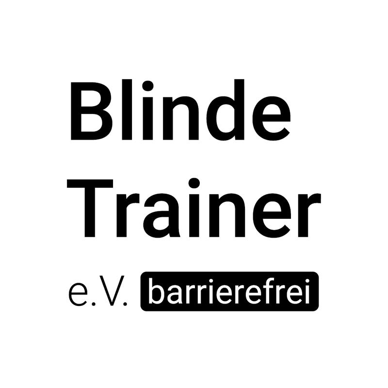 Blinde Trainer E.V. Barrierefrei